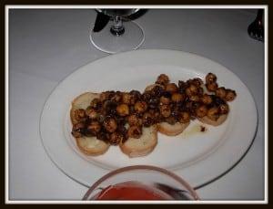 Garbazno Beans Bruschetta