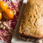 Meyer Lemon Pistachio Loaf #SundaySupper