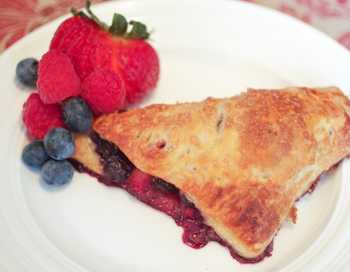 Mixed Berry Hand Pies - 5