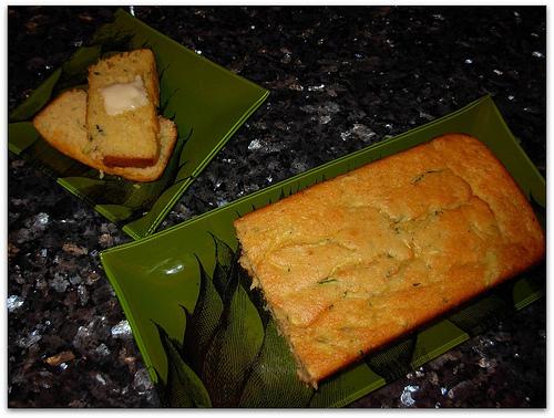 Corn & Zucchini Bread