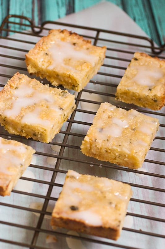 Mint Julep Bars from The Girl In The Little Red Kitchen