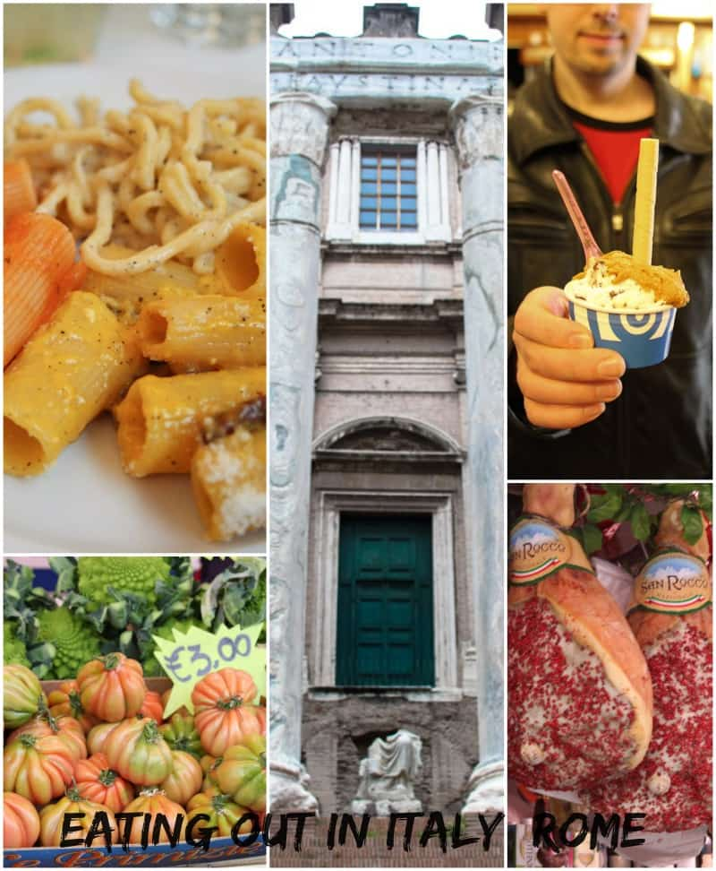 Eating Out In Italy: Rome from The Girl In The Little Red Kitchen