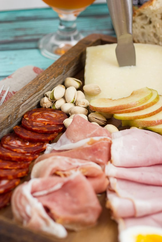 Ploughman's Platter for a Party from The Girl In The Little Red KItchen