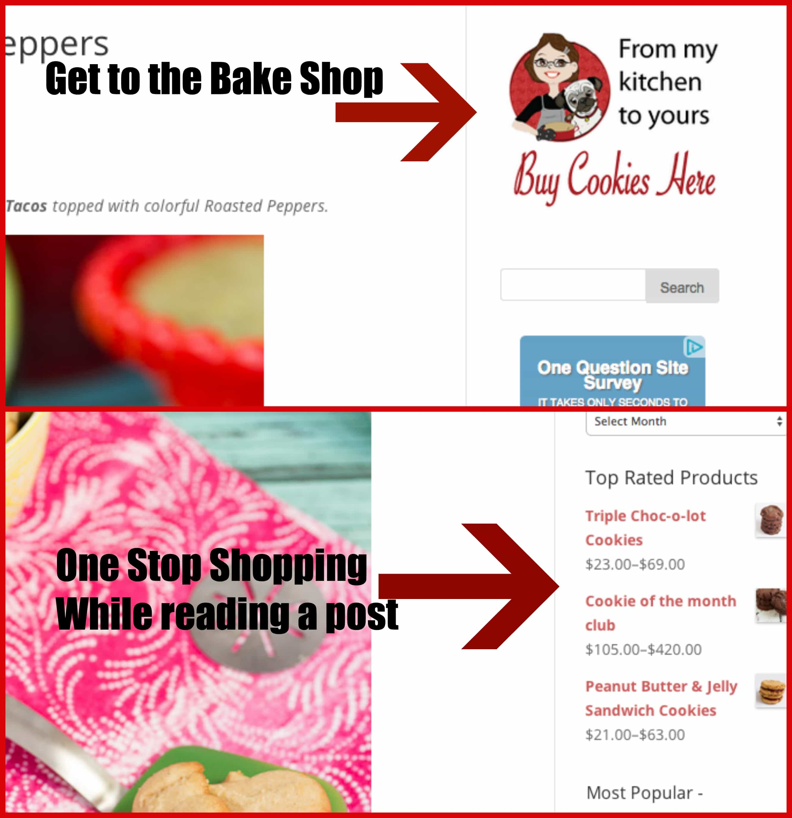Bake Shop Where to Click