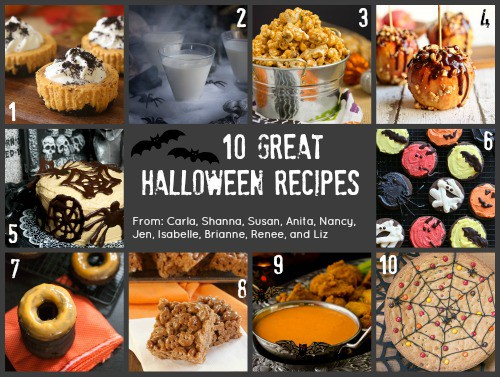 #HolidayFoodParty Halloween Recipes