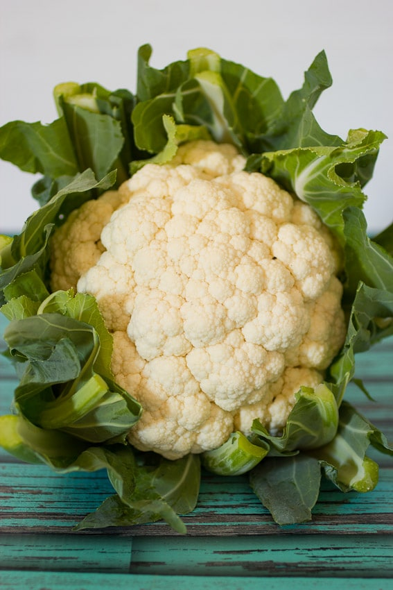 Fresh Cauliflower from The Girl In The Little Red Kitchen