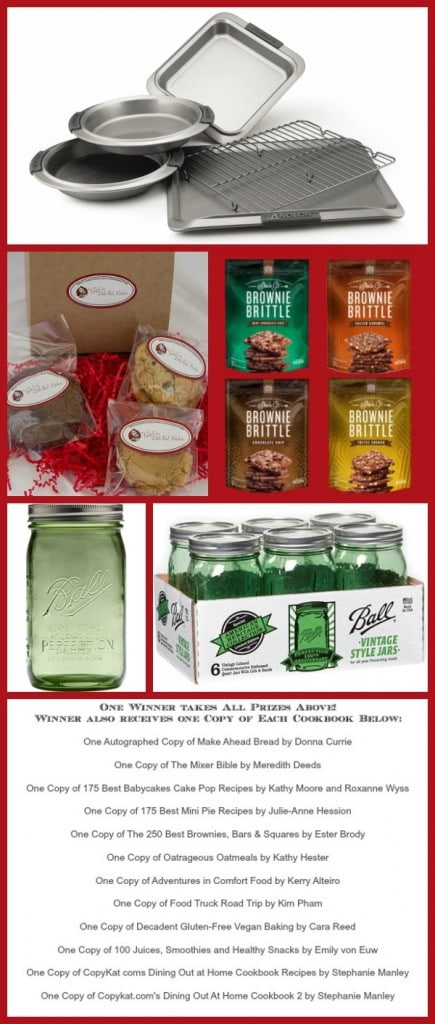 Christmas Week Giveaway Collage Hosted by Cravings of a Lunatic and The Girl in the Little Red Kitchen 2
