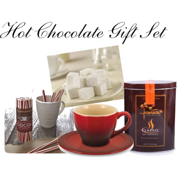Hot Chocolate Gift Set Giveaway from The Girl In The Little Red Kitchen