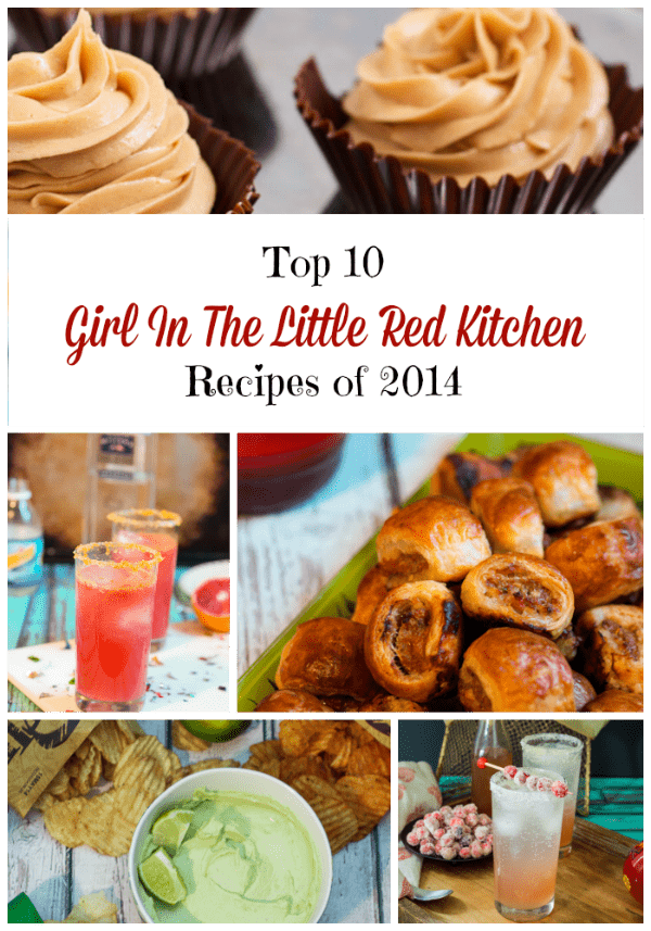 Top 10 Recipes of 2014 from The Girl In the Little Red Kitchen