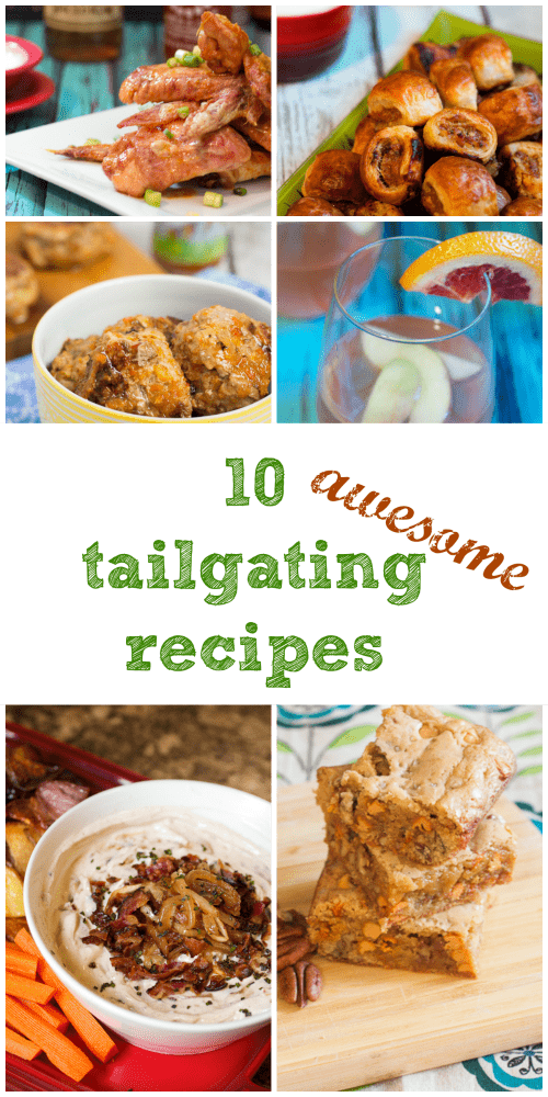10 Tailgating Recipes from The Girl In the Little Red Kitchen