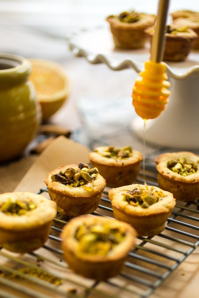 Baklava Cookie Cups | girlinthelittleredkitchen.com