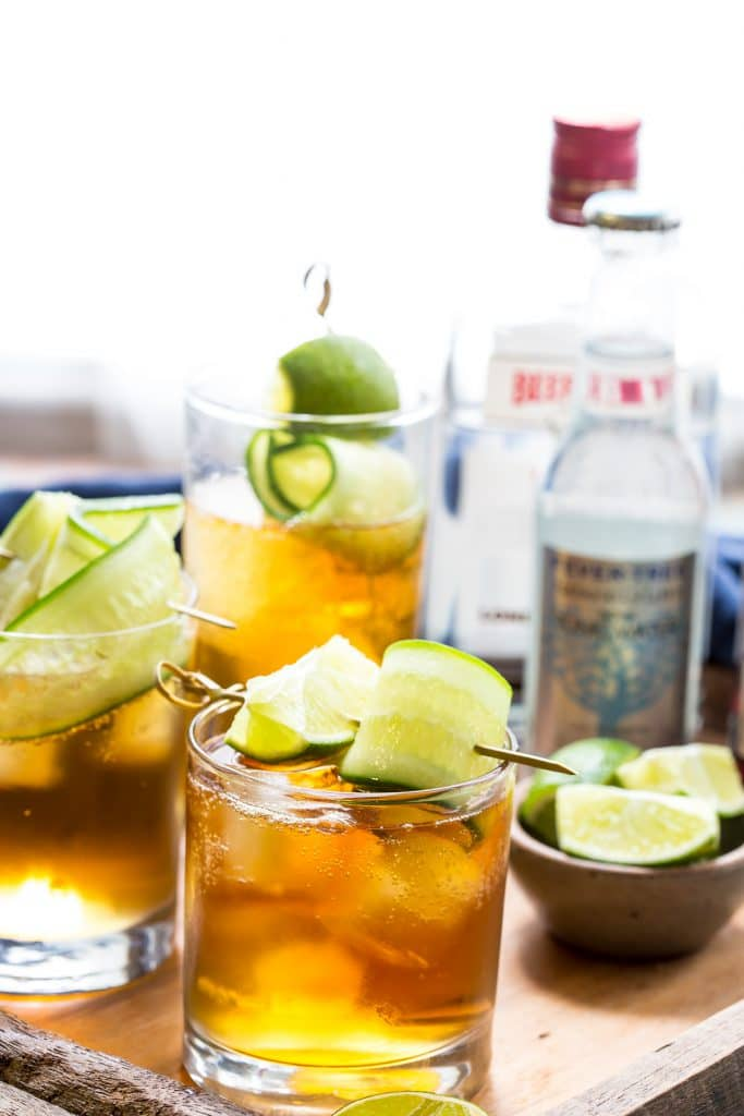 Pimm's and Tonic | girlinthelittleredkitchen.com