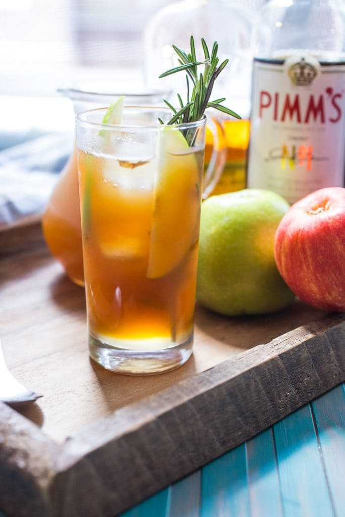 Autumn Pimm's Cup from The Girl In The Little Red Kitchen
