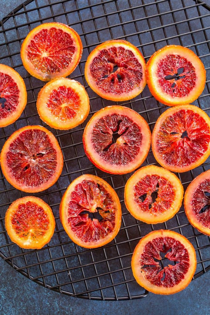 Blood Orange Cake | girlinthelittleredkitchen.com