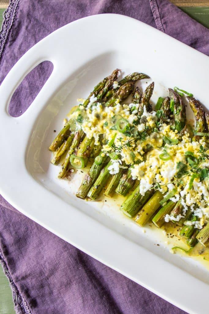 Asparagus Gribiche | Wimpy Vegetarian