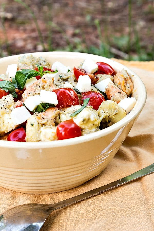 Tortellini Caprese Salad | Pastry Chef Online
