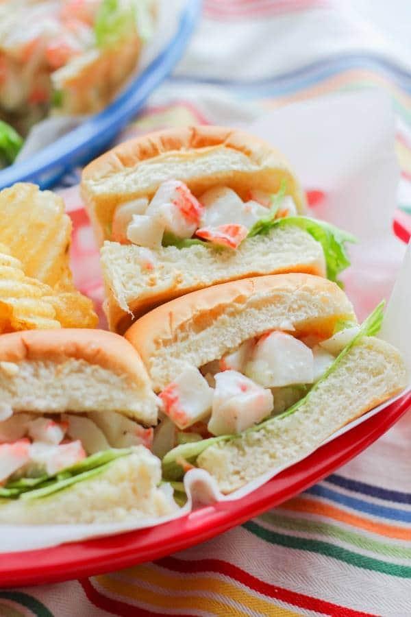 Mini Crab Roll | Chef Next Door