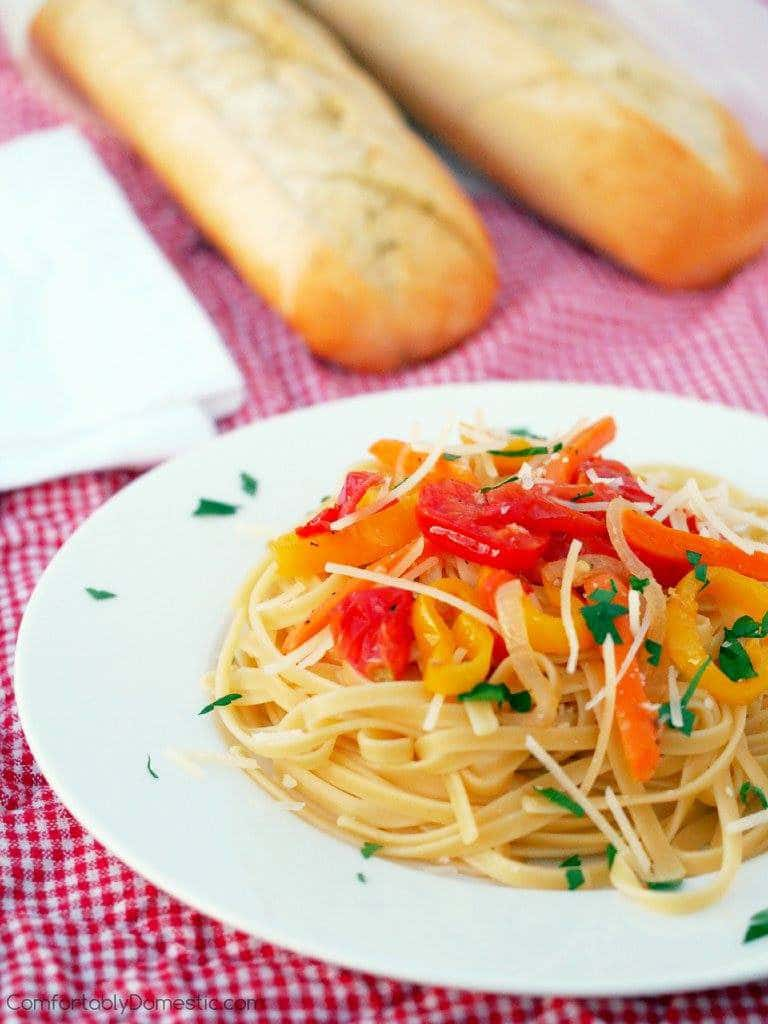 15 Minute Weeknight Pasta | Comfortably Domestic