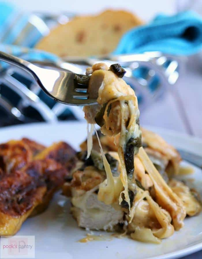 Queso Fundido Chicken | Pook's Pantry
