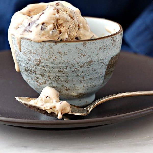 Salted Caramel Turtle Fudge Swirl Ice Cream (No-Churn) | Pastry Chef Online