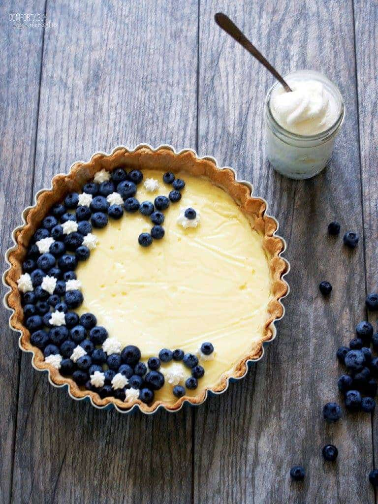 Vanilla Custard Tart | Comfortably Domestic