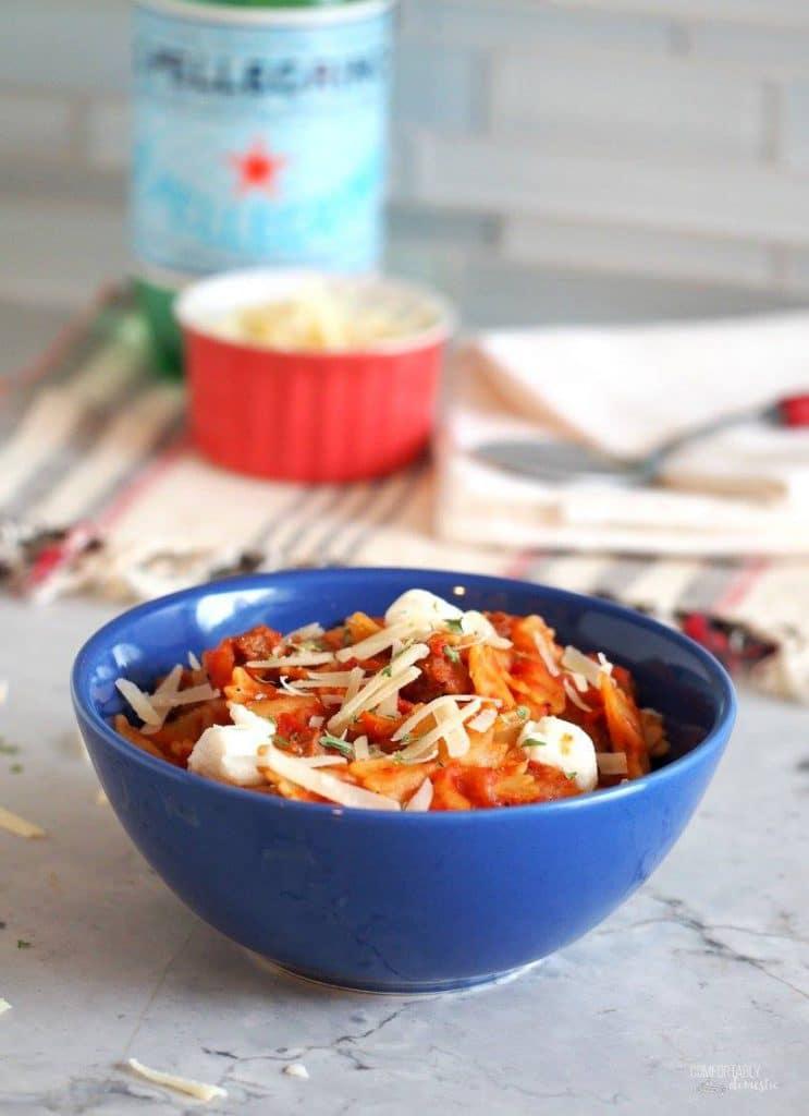 Skillet Lasagna | Comfortably Domestic