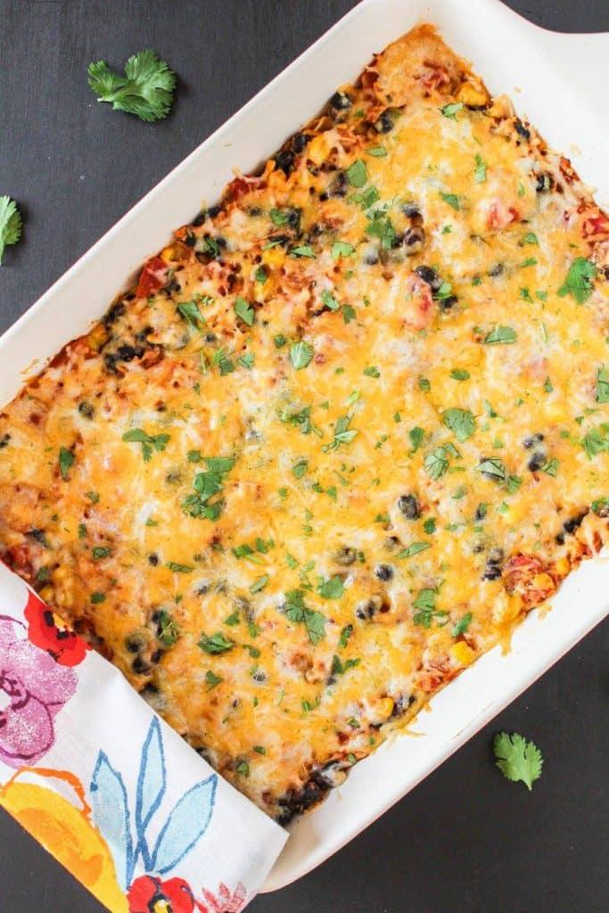 Mexican Chicken Tortilla Casserole | Chef Next Door