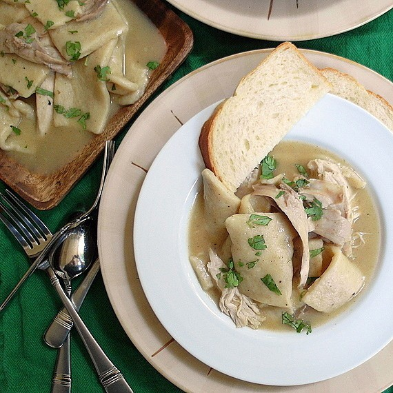 Southern Chicken and Dumplings | Pastry Chef Online