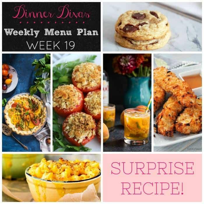 Weekly Meal Plan - Week 19 | girlinthelittleredkitchen.com