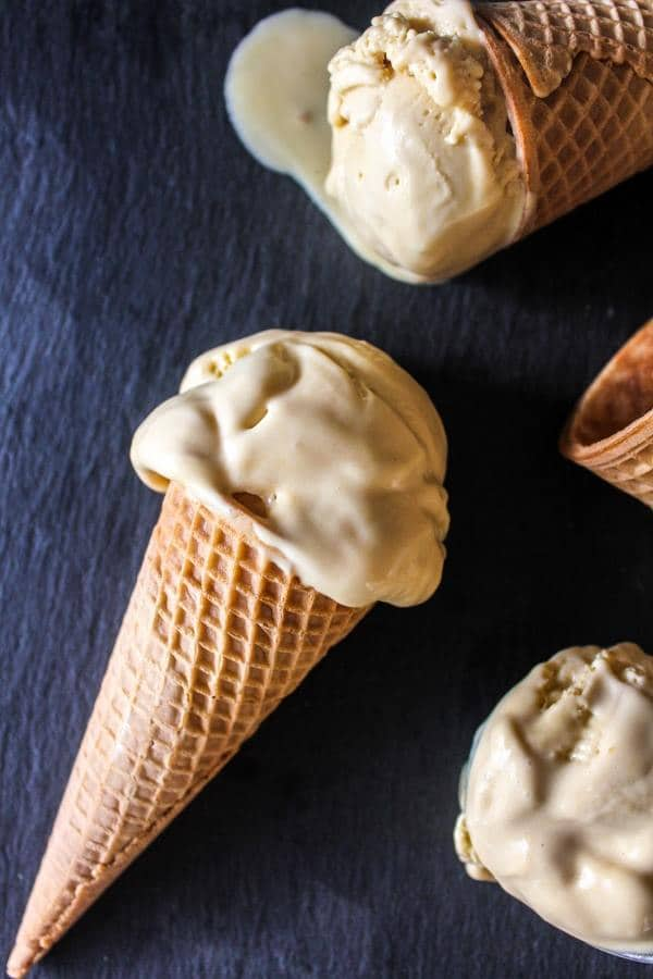 Sea Salt Caramel Ice Cream  | Chef Next Door