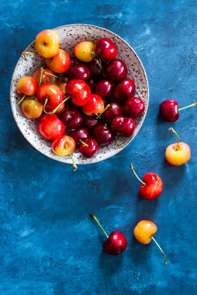 Cherries | girlinthelittleredkitchen.com