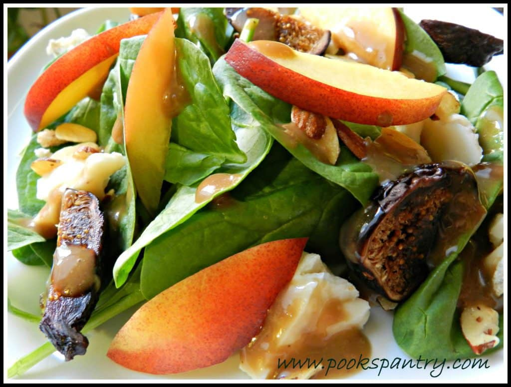 Fig and Nectarine Salad | Pook's Pantry