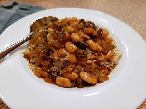 Vegan Creole White Beans and Rice | Pastry Chef Online