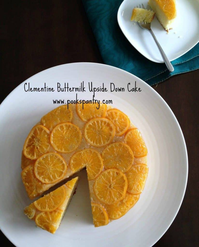 Clementine Buttermilk Upside Down Cake | Pook's Pantry
